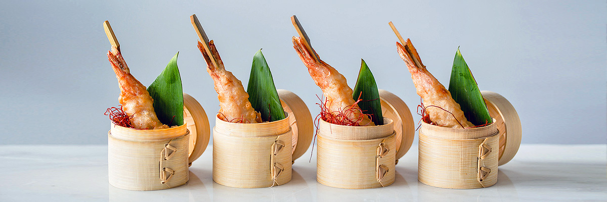 Bamboo Shrimp Baskets