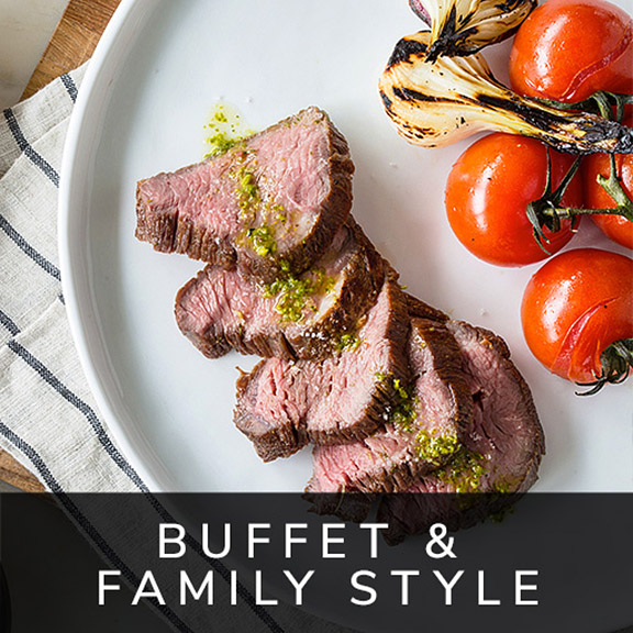 Buffet and Family Style Menu