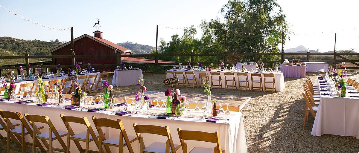 Bradford Ranch Wedding Venue