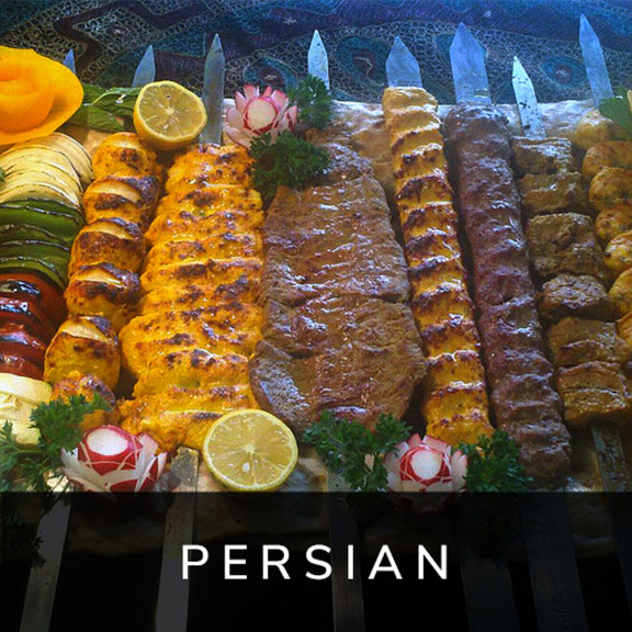 Persian Catering Menu