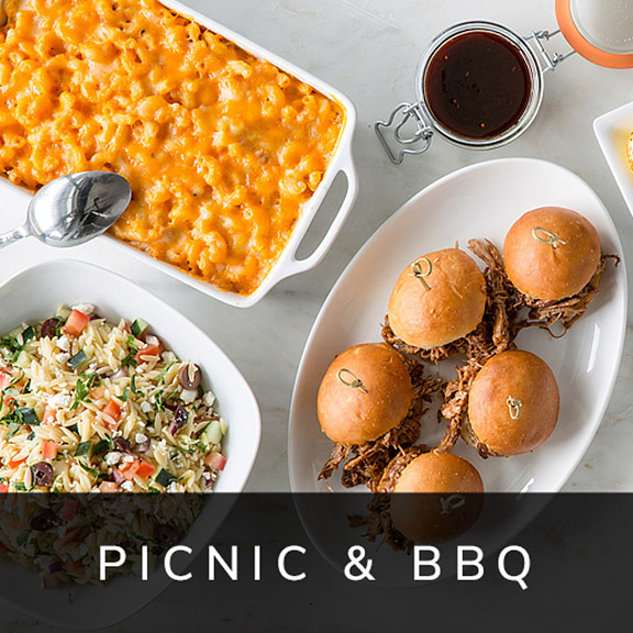 Summer Picnic & BBQ Catering Menu